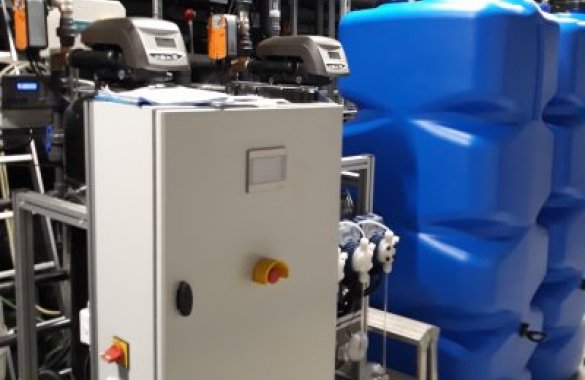 Circulating water filtration system